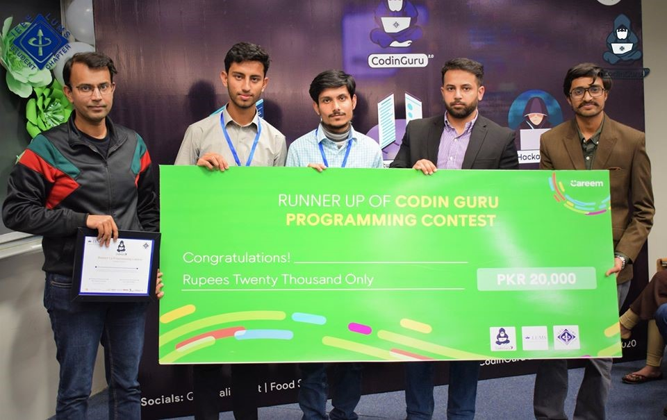 Day 2: Runner Up Programming Contest – AlgoGeeks-PUCIT