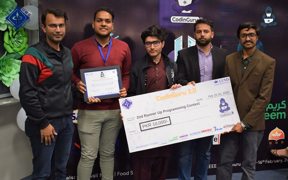 Day 2: 2nd Runner Up Programming Contest - BackTrackers